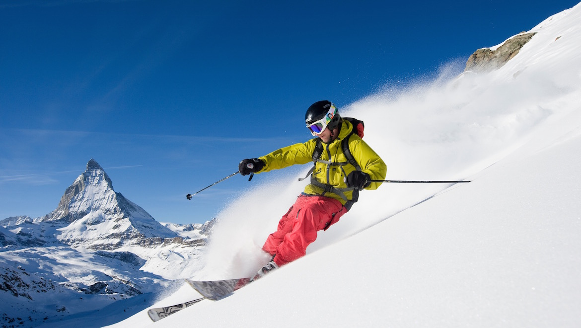 Skier: Fredrik Andersson Location: Zermatt, Switzerland